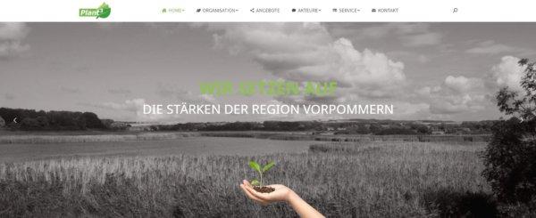 Die Plant³-Website ist online!